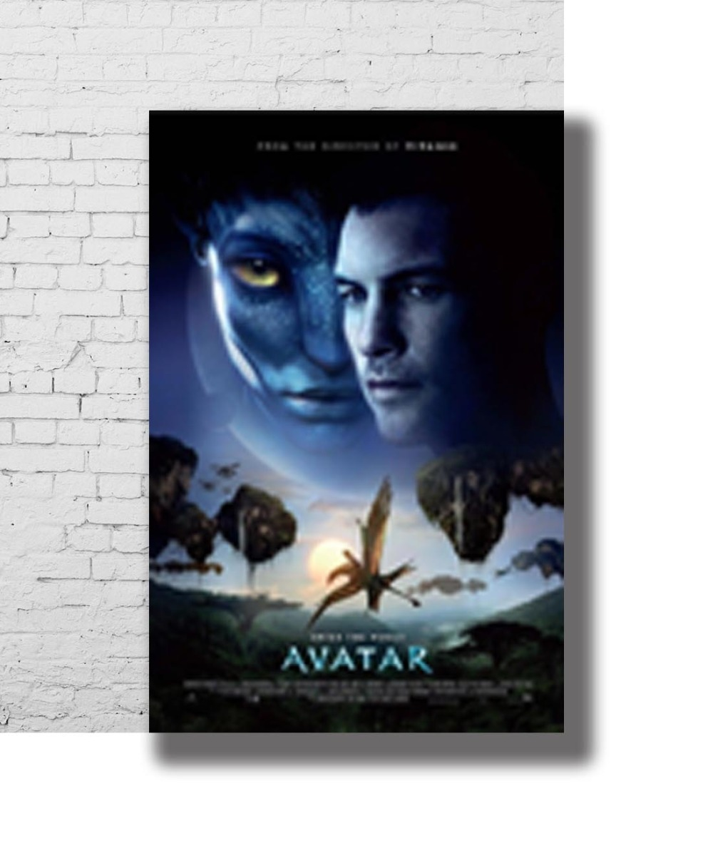 Avatar Sequels To Be Cancelled James Cameron Hints New: G 103 Avatar Movie James Cameron 2009 Film Fabric Home