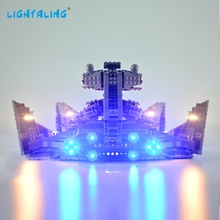 LIGHTALING Lighting Kit For 75055 Star War Imperial Star Destroyer Light Set Light Kit Compatible With 05062 NOT Blocks Model lepin 05062 1359pcs series the imperial super star destroyer set building blocks bricks compatible with 75055 boy toy