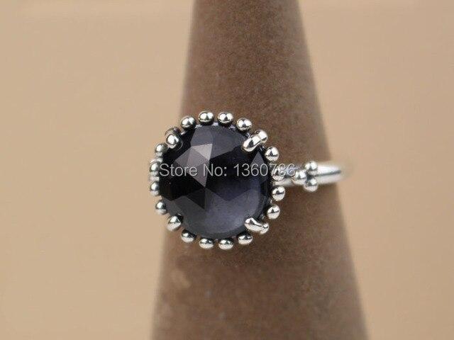 rivenditore all'ingrosso dddce b9d1a Anello pandora pietra nera – Gioielli con diamanti popolari
