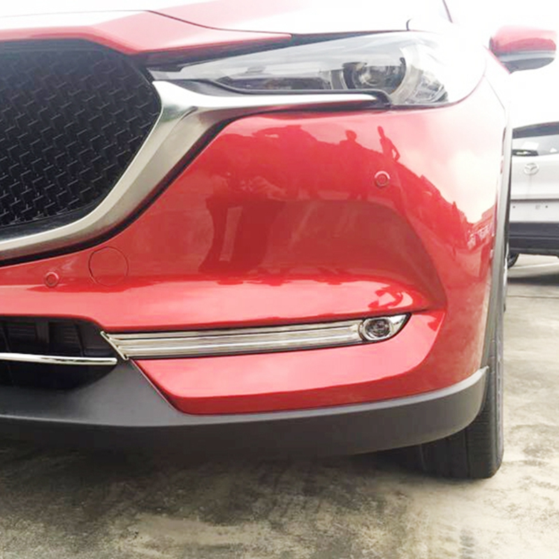 MONTFORD For Mazda CX 5 CX5 2017 2018 ABS Chrome font b Exterior b font Front
