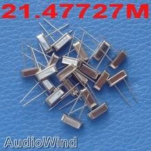 ( 20 pcs/lot ) 21.47727 MHz Quartz Crystal Resonator, Oscillator.