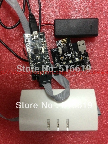 NRF24LU1 NRF24LE1 module development kit (with development board and E1 module) compatible (official)