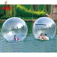 JIA INF 1.3 3m PVC şişme su yürüme topu aşınmaya dayanıklı su oyuncakları dans topu için fermuar ile yüzme havuzu açık