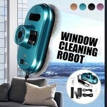 Robot aspirador para limpieza de ventanas, Control remoto, magnético, limpieza de vidrio, herramienta de limpieza