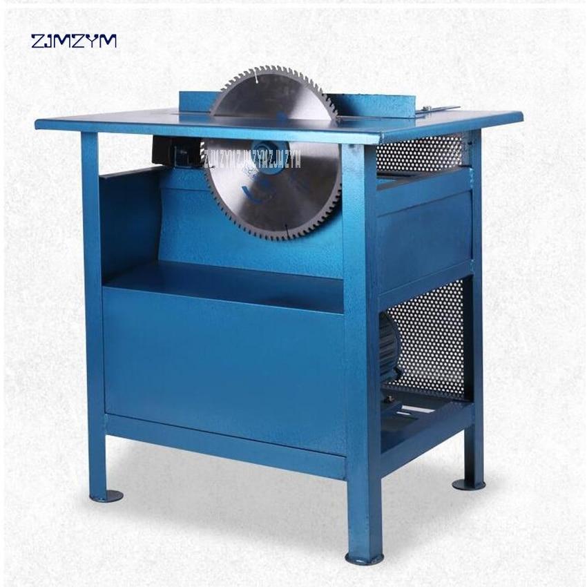3 kW Desktop Electric Woodworking Saw Circular Saw Circular Saw Woodworking Table Saw Chainsaw Copper Motor 220V/380V 2840r/min