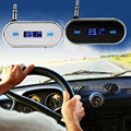 3.5mm In-Car Wireless FM Transmitter Radio Adapter with Car Charger Handsfree for iPhone for Galaxy for Sony for Xperia