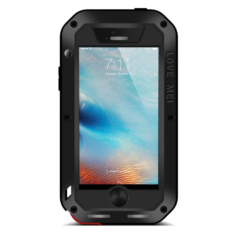 Image 4 - Love Mei Metal Case For iPhone 5 5S SE Shockproof Phone Cover For
