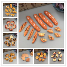 set 10pcs,Resin Miniature Bread, Simulation food FlatBack Cabochon for Phone Decoration/Dollhouse. Crafts Making,lets start!