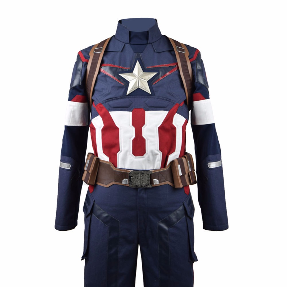 Costume Halloween Captain Christmas 3
