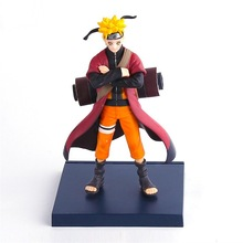 16cm New High Quality Japanes Cartoon Naruto PVC action figure For Christmas gifts -16