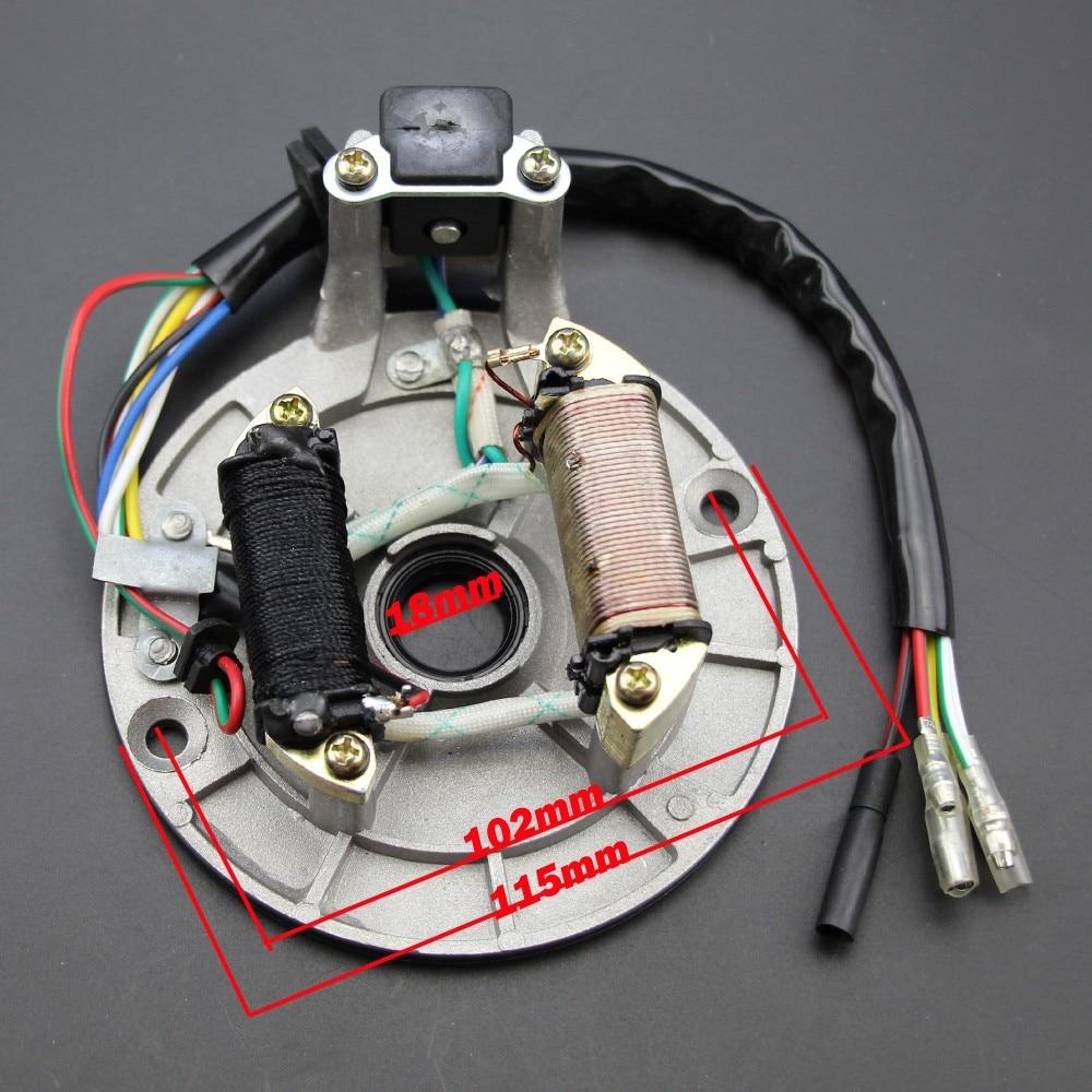 Полный Жгут проводов зажигания регулятор катушки CDI выключатель C7HSA Свеча зажигания 150cc 200cc 250cc квадроцикл