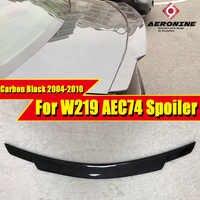 Per Mercedes Benz W219 4MATIC Tronco spoiler ala In fibra di Carbonio stile C74 CLS Classe CLS350 CLS400 CLS500 CLS63 Look ala 2004-2010