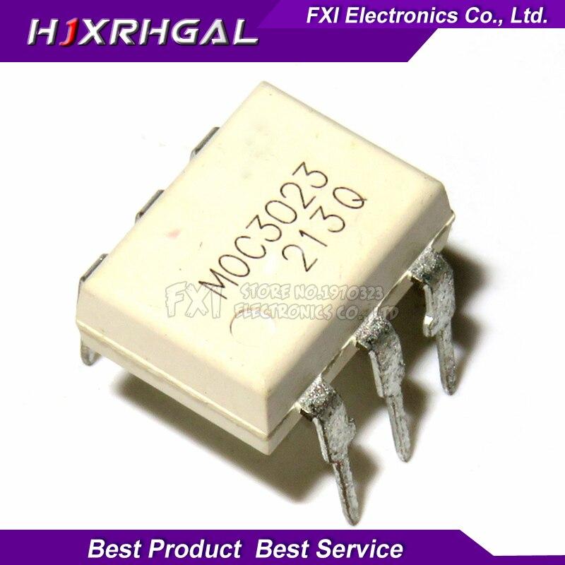 10PCS MOC3023 DIP6 DIP Photocoupler New Original