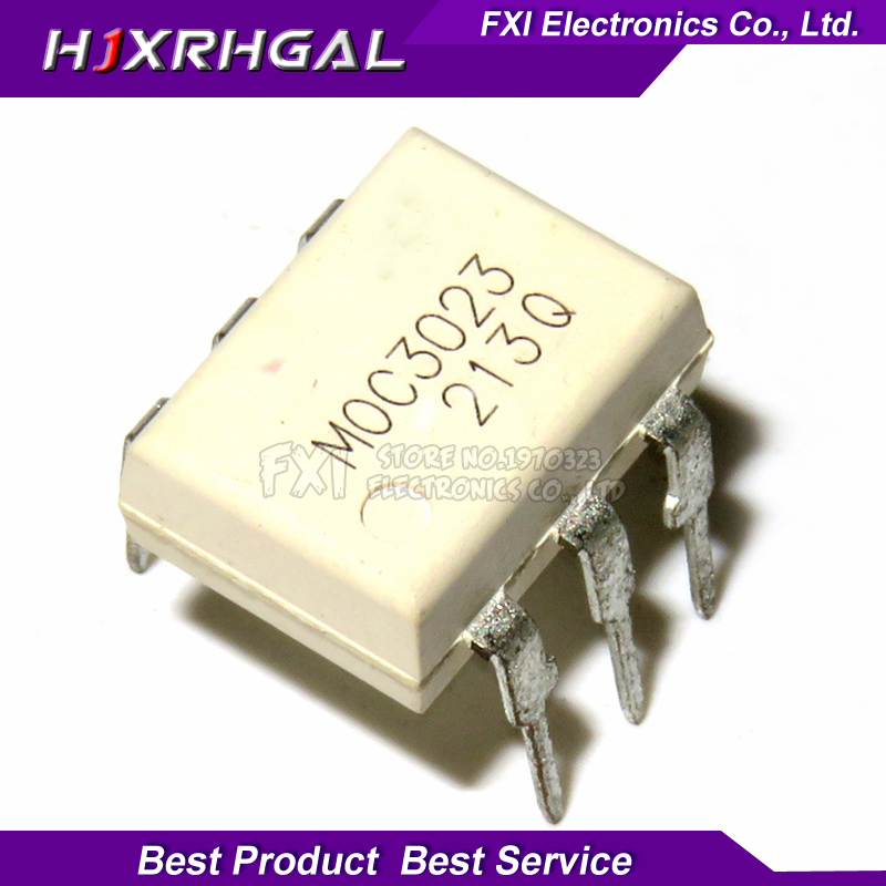 10PCS MOC3023 DIP6 DIP Photocoupler New Original