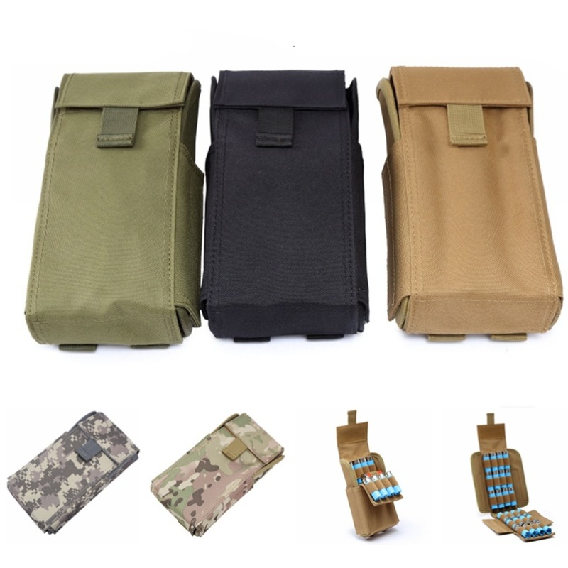 Tactical Ammo Bag 25 Round 12G Magazine Pouch Shell Reload Bag Shooting Hunting