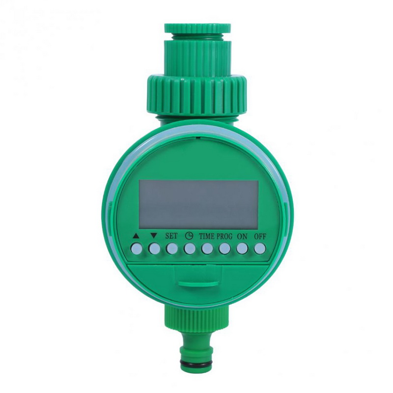Automatic Garden Watering Timer Electronic LCD Display Home Ball Valve Water Timer With Adjustable Dripper Controller System 7(China)