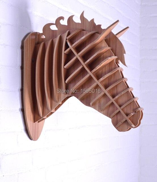 aliexpresscom koop hout paard wanddecoratie paard