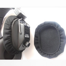 Linhuipad 50 pack Pilot headphone earmuff covers velour ear pads cushions 11cm diameter for David Clark headsets