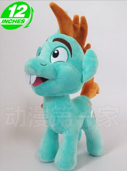 1PCS limited edition 32CM 288g little pet horse MLP Snips cotton plush doll toys for cute gifts and kids plush ocean creatures plush penguin doll cute stuffed sea simulative toys for soft baby kids birthdays gifts 32cm