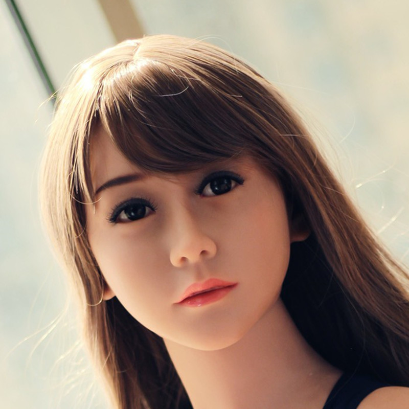 Sexy Silicone Doll Head for 140cm to 176cm Full Size Lifelike oral sex head for Adult Male MasturbationSexy Silicone Doll Head for 140cm to 176cm Full Size Lifelike oral sex head for Adult Male Masturbation