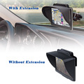 TFY GPS Navigation Sun Shade Visor Plus Flexible Visor Extension Piece for Garmin nuvi Portable GPS and Other GPS