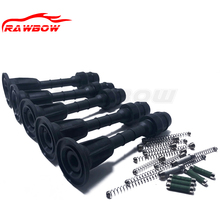 купить 50 PCS IGNITION COIL 22448-AX001 22433-8J115 22448-8J11C RUBBER BOOT PACK SPRING FOR NISSAN NOTE E11 MARCH MICRA K12 PART дешево