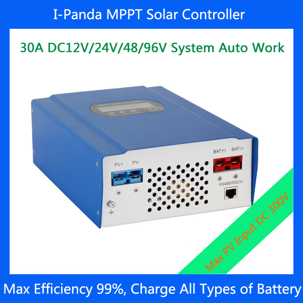 CE RoHS  30A 96V MPPT solar charge controller LCD 96V 30A PV regulator for 3000w solar home system cheap saipwell high power 12v 60a pwm solar charge controller ce rohs smg60