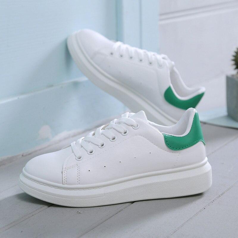 c5da9f59d88363 Casual Femme or De Blanc Chaussures Vulcaniser Chunky forme Été Printemps  Tenis rose Femmes 2019 Feminino ...