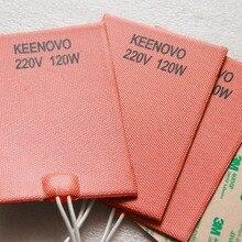 Keenovo Универсальный гибкий силиконовый нагреватель мат/коврик/элемент моторное масло поддон нагреватель, Нагреватель соломы, 150*100 мм 220 Вт@ в
