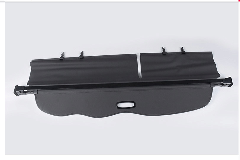 Black Rear Trunk Cargo Cover Security Shield Shade For Toyota Land Cruiser Prado FJ150 2010-2018 все цены