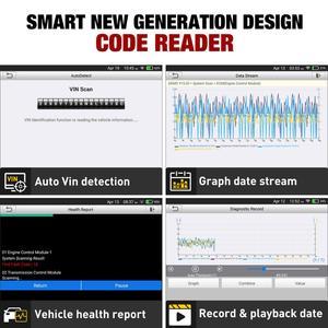 Image 5 - STARTEN X431 CRP129E obd2 eobd code reader Scanner unterstützung Motor ABS SRS ZU + Brems Öl SAS ETS TMPS Reset CRP 129E freies update