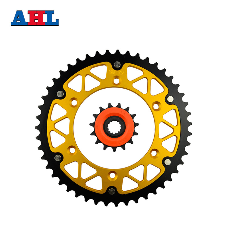 Motorcycle Parts 47-15 T Front & Rear Sprockets Kit For SUZUKI DRZ400S DRZ400 DR-Z / DRZ 400 S 2000 2007 2010 Gear Fit 520 Chain