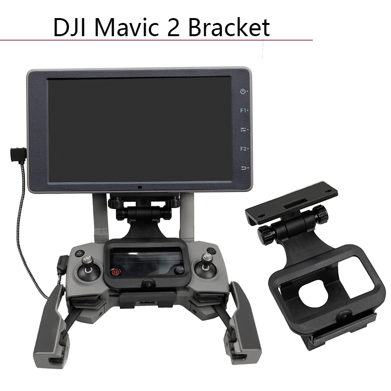 Universal Front Bracket HD Screen Stand Accessories View Mount Controller Support For DJI Mavic 2 Pro Zoom Spark Air Mavic Pro