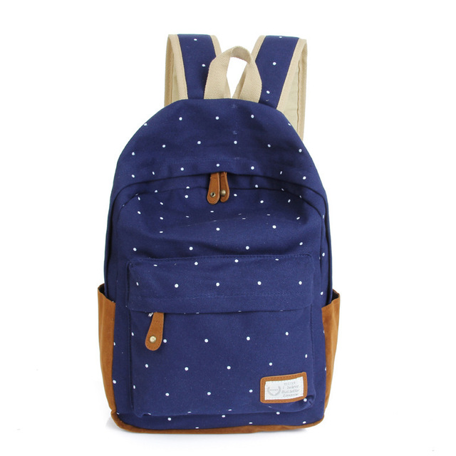 Women backpack light weight printing backpack school backpacks canvas backpack 3