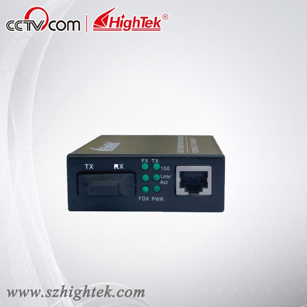 HighTek HK-9116 Single-mode 20km 10/100/1000M Fiber Optic converter, fiber optic connector, fiber optic media converter