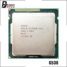 Intel celeron g530 processador de cpu de núcleo duplo de 2.4 ghz 2 m 65 w lga 1155