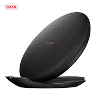 FMAN Foldable Mobile Phone Convertible Wireless Charging Pad Qi Fast Wireless Charger For iPhone 8 X Samsung Galaxy s6 s7 s8