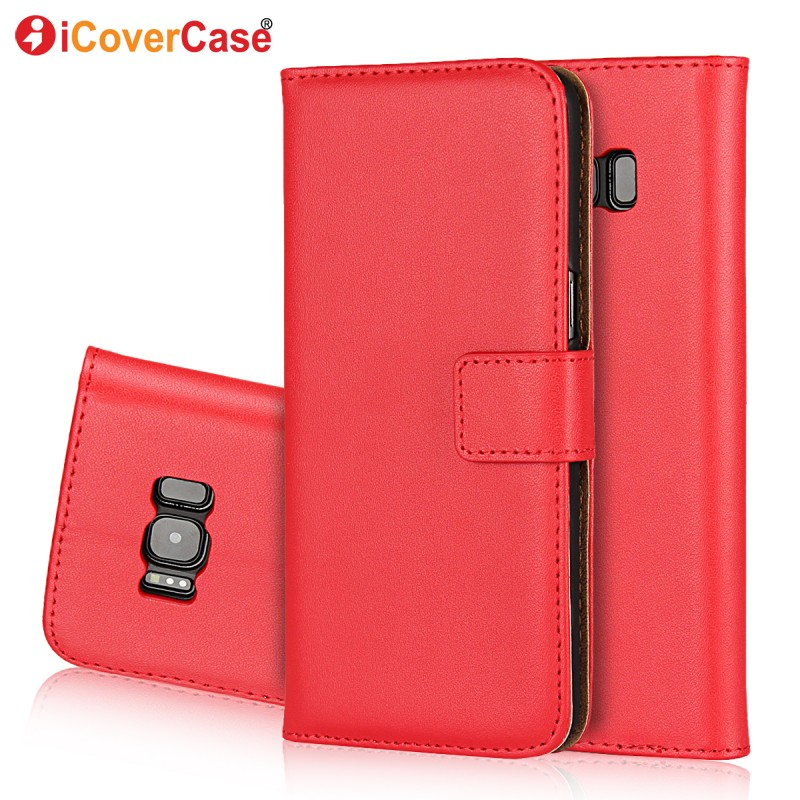 Wallet Leather Case For Samsung Galaxy S8 Funda Etui Luxury Coque Capa Back Cover for Samsung S8 Plus Phone Cases With Card Slot-in Wallet Cases from Cellphones & Telecommunications    3