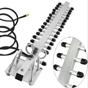 Image 5 - 2.4Ghz Wifi Antenne 25dBi Rp Sma Outdoor Draadloze Yagi Antenne Directionele Booster Versterker Modem Kabel