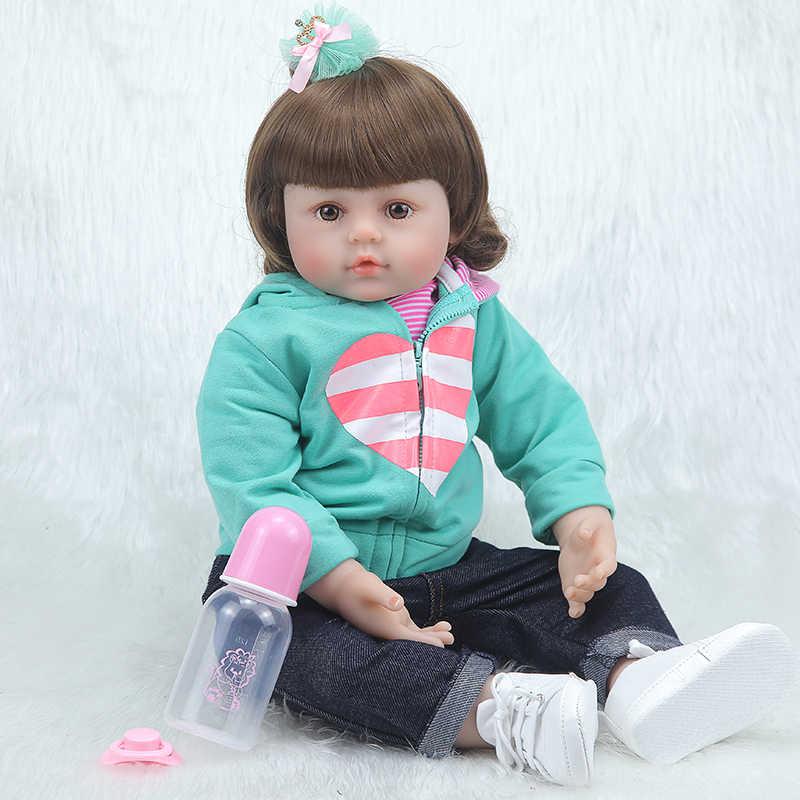 Forrsdor 58 cmHot 販売スポーツスーツリアルなソフトシリコーン人形ベベリボーンコーポデシリコーン inteiro realista 、誕生日プレゼント