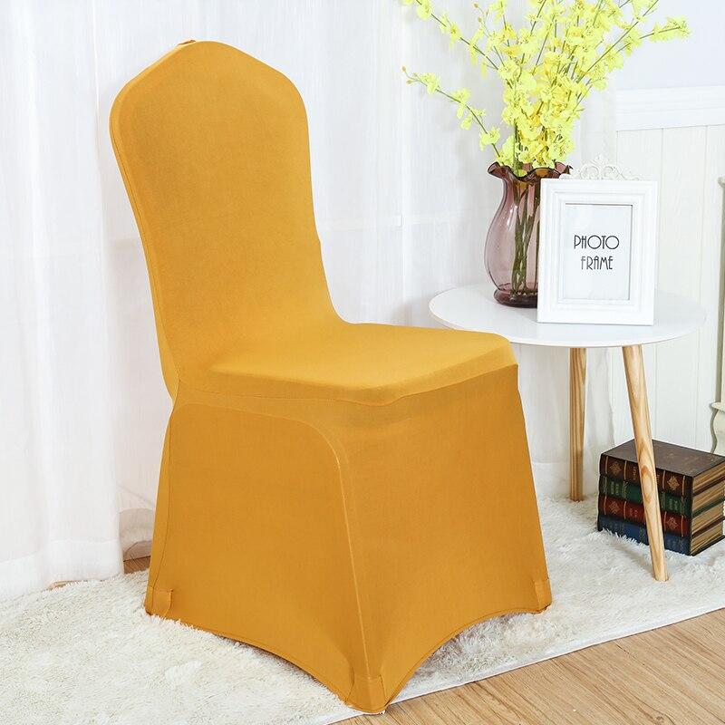 30 farver Spandex stolbetræk lycra dækning til stol spisestue - Hjem tekstil - Foto 3