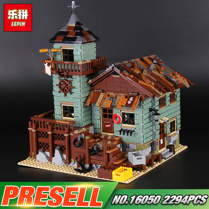 Lepin 16050 Genuine 2109Pcs MOC Series The Old Finishing Store Set 21310 Building Blocks Bricks Christmas Toys Gift for Children managing the store
