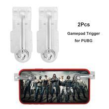 2 шт. Джойстики для планшета джойстики игры для мобильных телефонов геймпад триггер Кнопка огня цель ключ-чип для PUBG