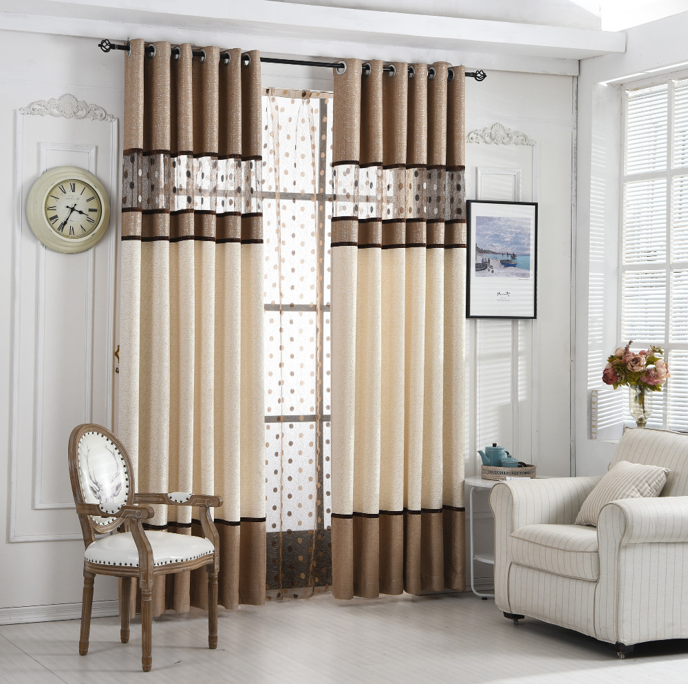 Byetee High Quality Luxury Curtain For Bedroom Kitchen Curtains For Living Room Modern