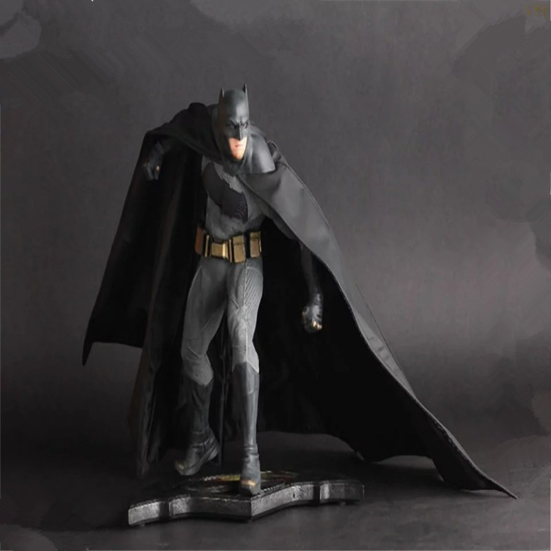 Batman Vs. Superman Combat Ver. Action Figure PVC Action Figure Collectible Model Toy 25cm KT3569 archetype transparent ver she