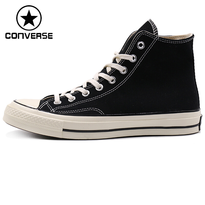 Original New Arrival 2018 Converse All Star 70 Unisex Skateboarding High top Shoes Canvas Sneakers ...