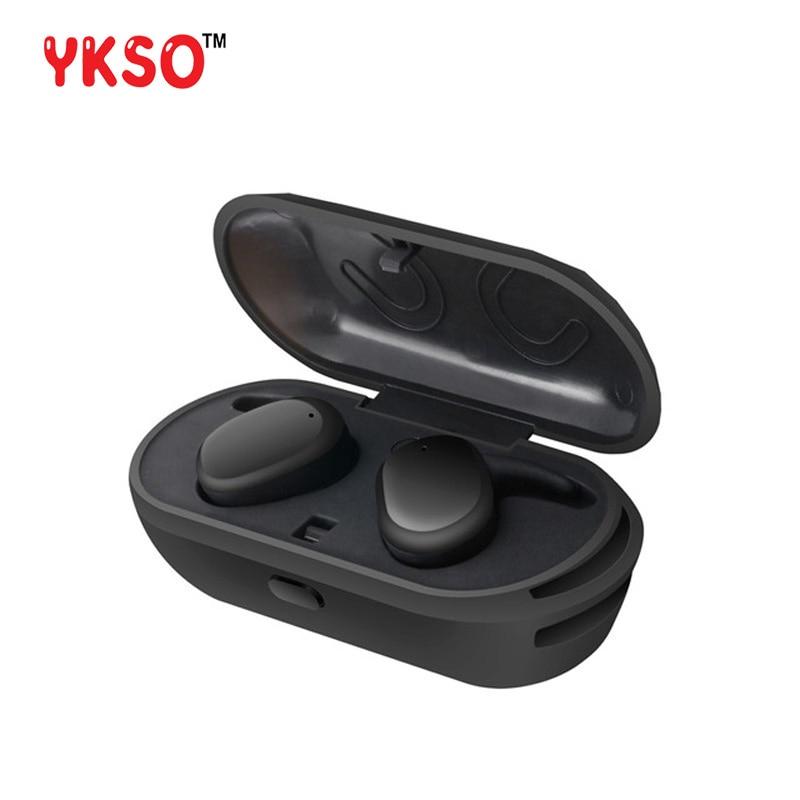 YKSO Portable audio and video S9100 headphone sports wireless bluetooth headset waterproof with mic Mini headphone