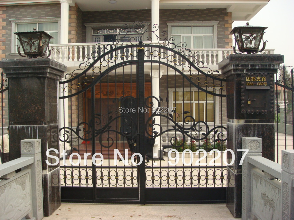 Ornamental Wrought Iron Gates Small Metal Garden Gate Metal Gate Price