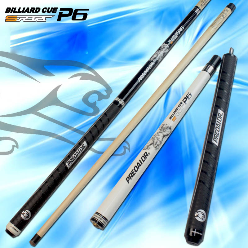 3142 PREOAIDR P6 Punch&Jump Cue Jump&Punch Cue Stick 13mm Tip Ergonomic Design Hardwood North American Maple Billiard Cue Stick