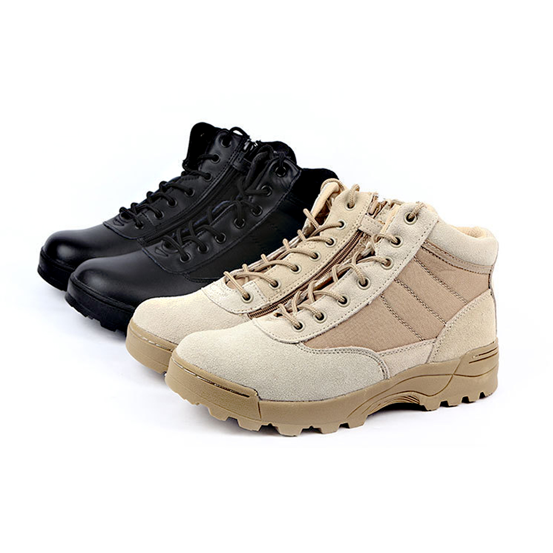 Military Tactical Boots Desert Combat Outdoor Army Hiking Boots Travel Botas Leather Autumn Ankle Men Work Boots winter Shoes
